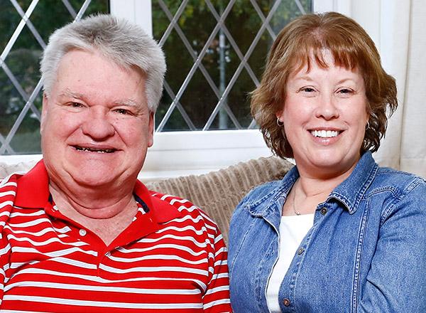 Larry & Debbie Kineman / England