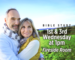 Young at Heart Bible Study @ Fireside Room