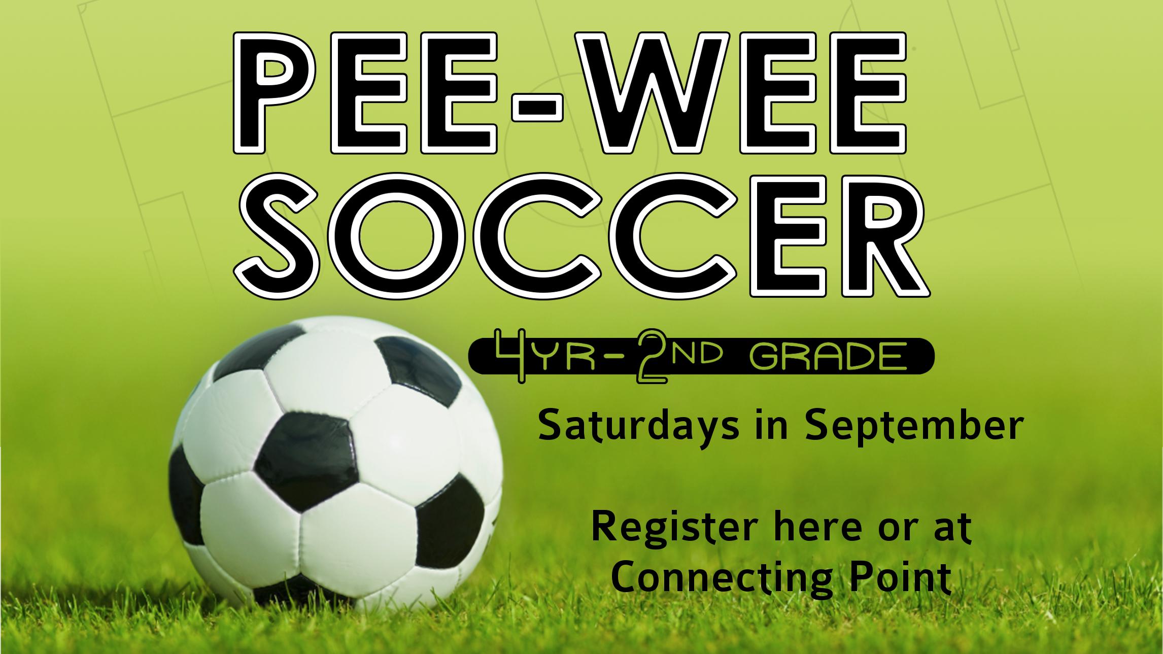 Pee-Wee Soccer